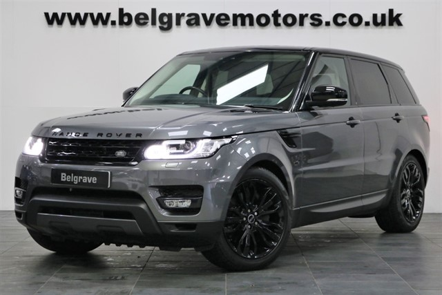 used Land Rover Range Rover Sport SDV6 HSE DYNAMIC 21
