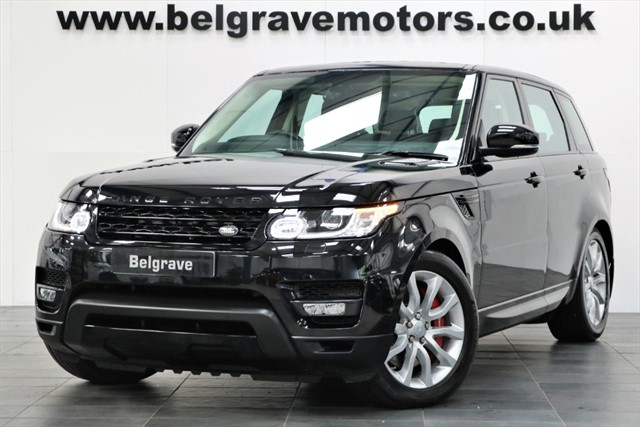 used Land Rover Range Rover Sport SDV6 AUTOBIOGRAPHY DYNAMIC HUGE SPEC in sheffield