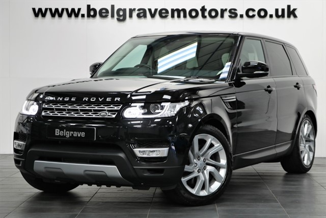 used Land Rover Range Rover Sport SDV6 HSE NEW 2017 MODEL WIDESCREEN NAV 306 BHP 40+MPG in sheffield