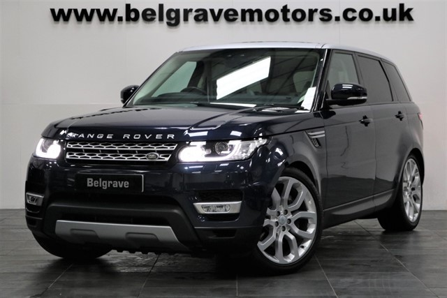 used Land Rover Range Rover Sport SDV6 HSE NEW 2017 MODEL PAN ROOF 22