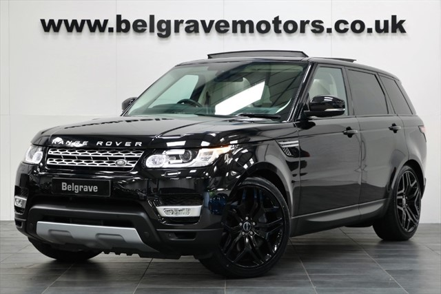 used Land Rover Range Rover Sport SDV6 HSE - RESERVED in sheffield