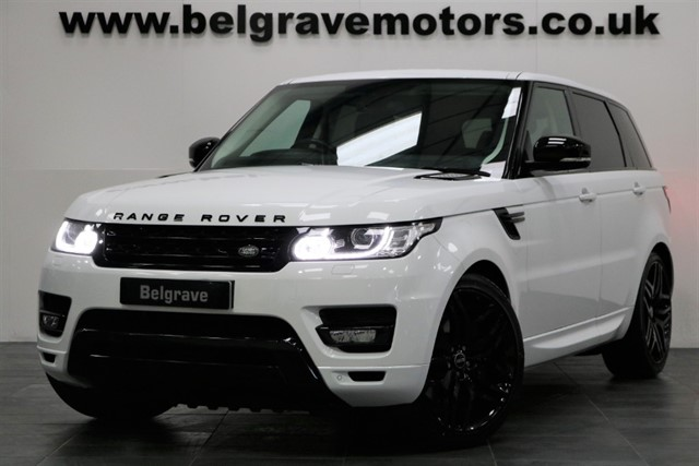 used Land Rover Range Rover Sport SDV6 HSE 22