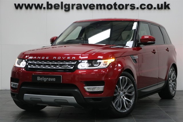 used Land Rover Range Rover Sport SDV6 HSE PANORAMIC ROOF DEPLOYABLE SIDESTEPS 21