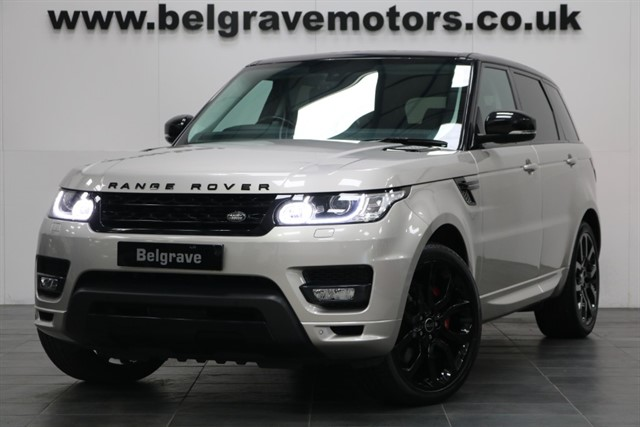 used Land Rover Range Rover Sport SDV8 AUTOBIOGRAPHY DYNAMIC BLACK PACK HUGE SPEC COST OVER in sheffield