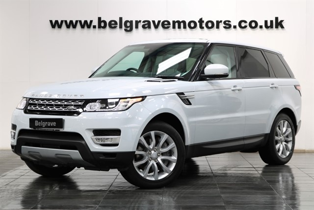 used Land Rover Range Rover Sport SDV6 HSE PAN ROOF PRIVACY GREAT SPEC ONE OWNER 37+MPG in sheffield