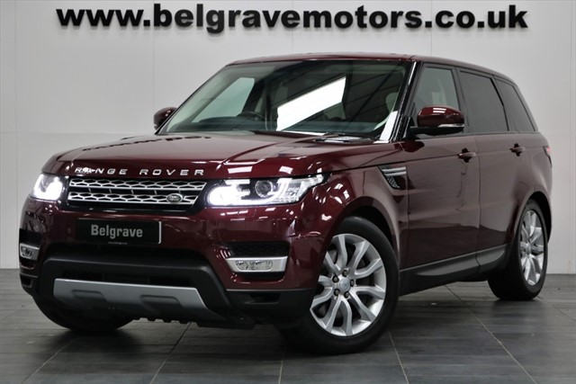 used Land Rover Range Rover Sport SDV6 HSE PAN ROOF 306 BHP 40+MPG in sheffield