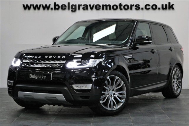 used Land Rover Range Rover Sport SDV6 HSE 21