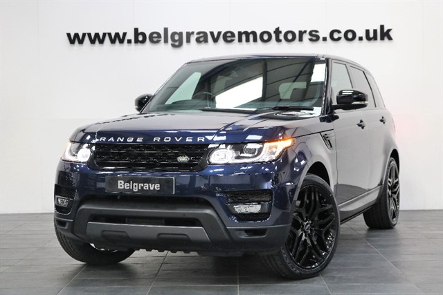 used Land Rover Range Rover Sport SDV6 HSE DYNAMIC PAN ROOF DEPLOYABLE STEPS 306 BHP 40+MPG in sheffield