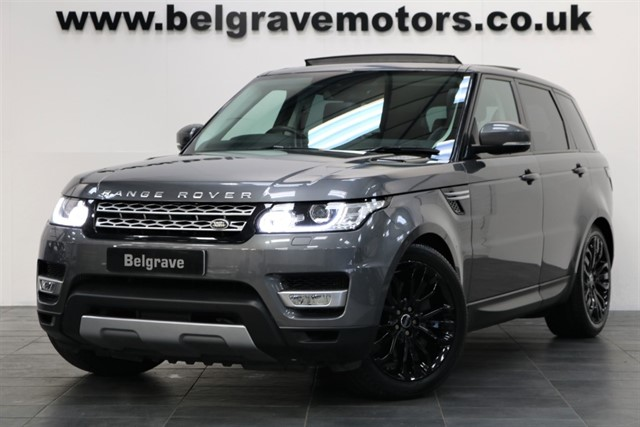used Land Rover Range Rover Sport SDV6 HSE PAN ROOF 7 SEATS 21