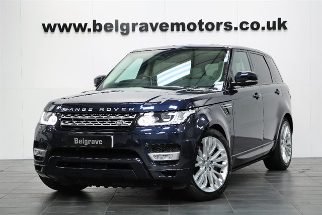 used Land Rover Range Rover Sport SDV6 HSE 2017 MODEL - NOW SOLD in sheffield