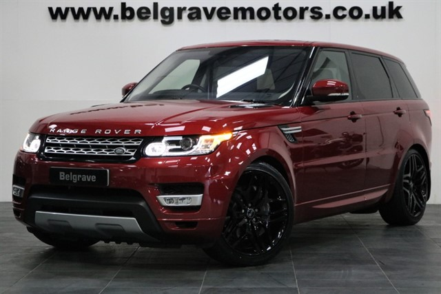 used Land Rover Range Rover Sport SDV6 HSE PAN ROOF AUTOBIOGRAPHY STYLING 22