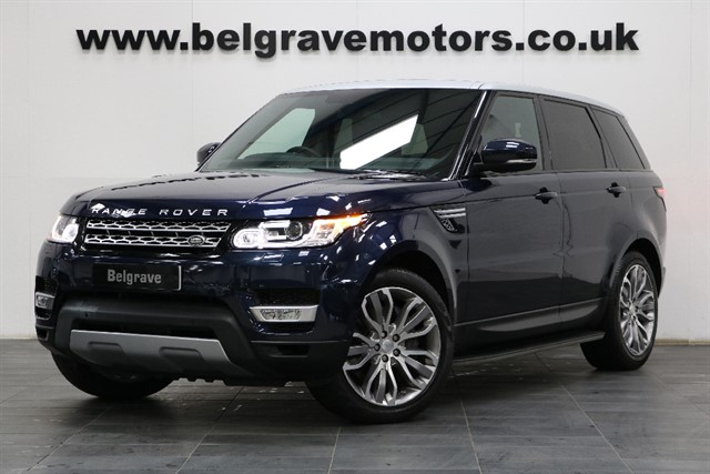 used Land Rover Range Rover Sport SDV6 HSE LOW MILES 21