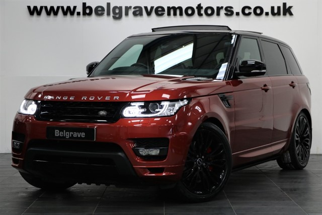 used Land Rover Range Rover Sport SDV6 AUTOBIOGRAPHY DYNAMIC 22