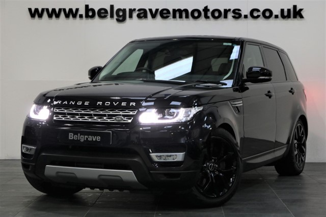 used Land Rover Range Rover Sport SDV6 HSE PAN ROOF 21