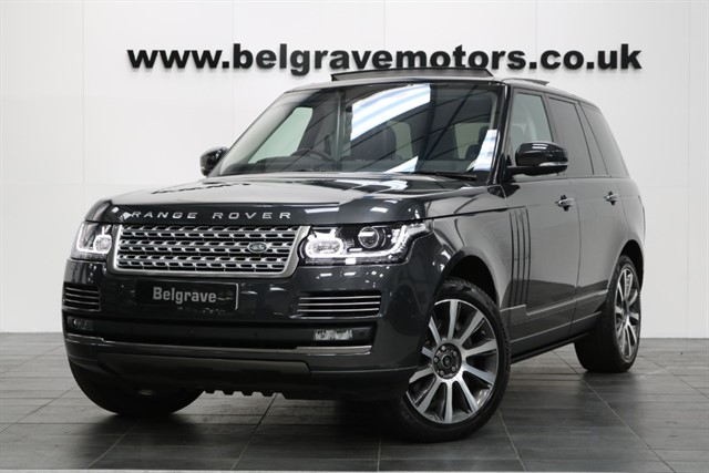 used Land Rover Range Rover SDV8 AUTOBIOGRAPHY HUGE SPEC REAR ENTERTAINMENT DEPLOYABLE STEPS in sheffield