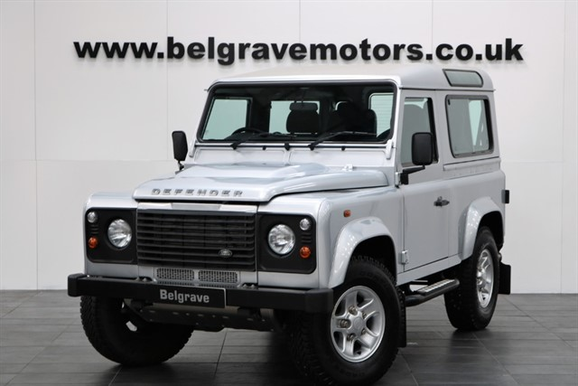 used Land Rover Defender 90 TD STATION WAGON XS ALLOYS ONE OWNER 4 SEATER - THE ONE TO HAVE in sheffield