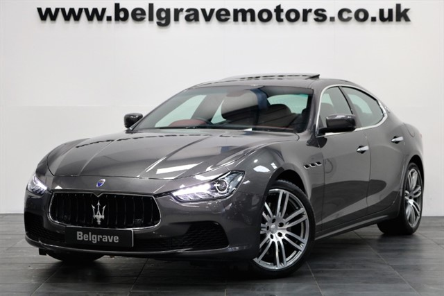 used Maserati Ghibli S V6 410 BHP HUGE SPEC LOW MILES ONE OWNER in sheffield