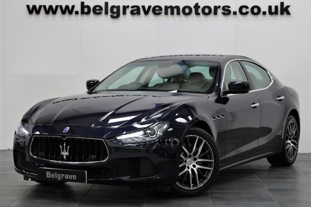 used Maserati Ghibli DV6 HUGE SPEC 19