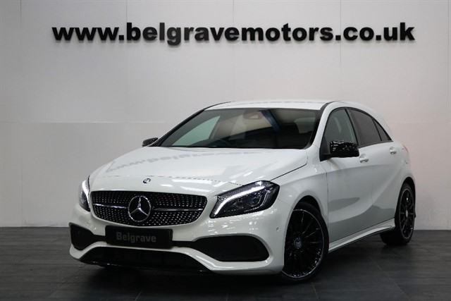 used Mercedes A200 A200D AUTO AMG LINE PREMIUM NIGHT PACK NEW MODEL 5DR 68+MPG in sheffield