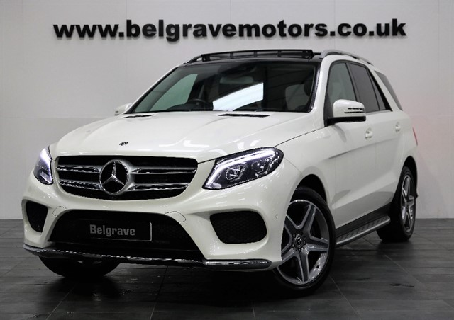 used Mercedes GLE250 GLE D 4MATIC AMG LINE PREMIUM MASSIVE SPEC 360 CAMERA PAN ROOF in sheffield