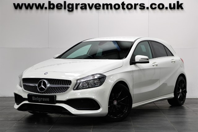used Mercedes A200 A200D AMG LINE AUTO NEW SHAPE NIGHT PACK PRIVACY 18