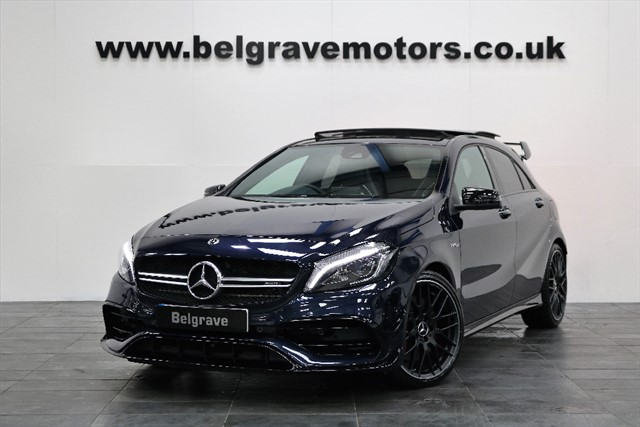 used Mercedes A45 AMG AMG A 45 4MATIC PREMIUM AERO PACK EVERY OPTION in sheffield