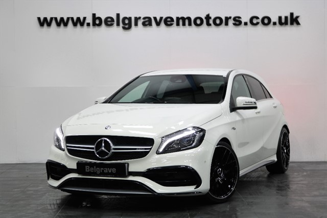 used Mercedes A45 AMG 4MATIC LATEST MODEL 375BHP 19