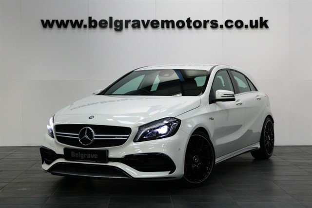 used Mercedes A45 AMG A 45 4MATIC HUGE SPEC LATEST MODEL 375BHP in sheffield