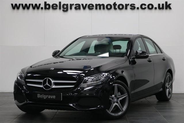 used Mercedes C200 D SE EXECUTIVE EDITION SAT NAV 18