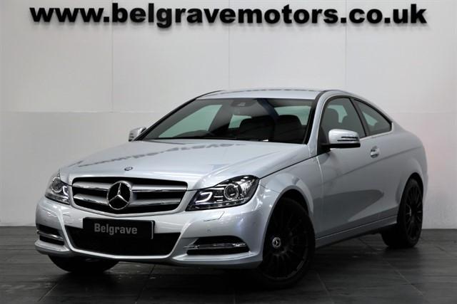 used Mercedes C220 CDI EXEC SE AUTO 18