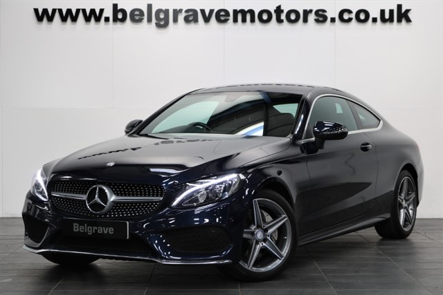 used Mercedes C220 C  D AMG LINE AUTO 67+MPG in sheffield