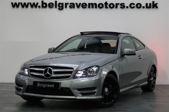 used Mercedes C220 CDI AMG SPORT EDITION PREMIUM PLUS PAN ROOF in sheffield