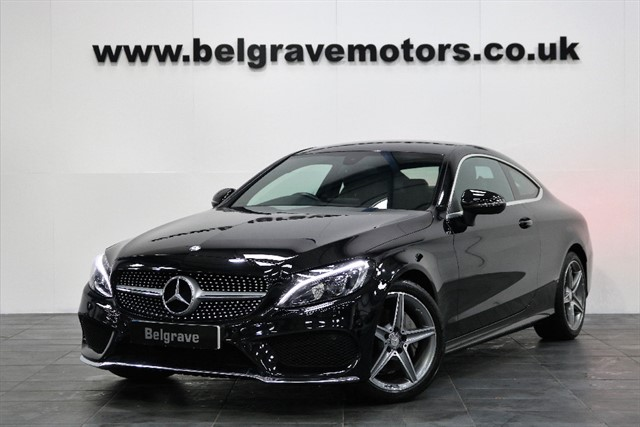 used Mercedes C220 C220D AMG LINE AUTO GREAT SPEC COUPE 2DR 67+MPG in sheffield