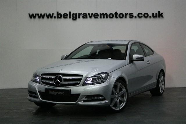 used Mercedes C220 CDI EXECUTIVE SE AUTO 18
