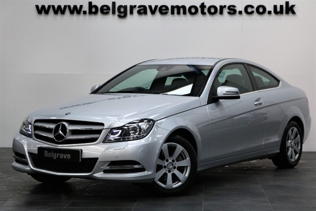 used Mercedes C220 CDI EXECUTIVE SE LOW MILEAGE ONE OWNER COUPE 57+MPG in sheffield