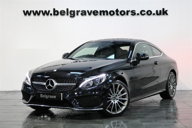 used Mercedes C250 C250D AMG LINE AUTO COUPE 65+MPG in sheffield