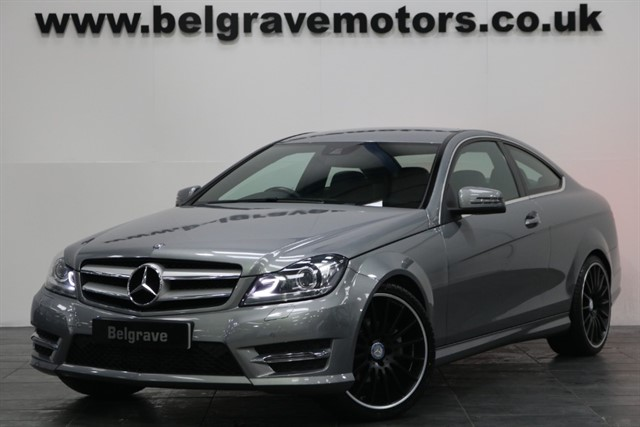 used Mercedes C250 CDI AMG SPORT EDITION 19
