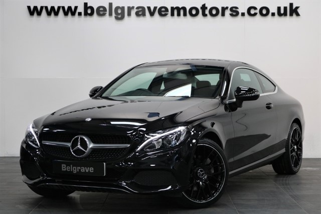 used Mercedes C300 C300 SPORT AUTO COUPE GREAT SPEC 19