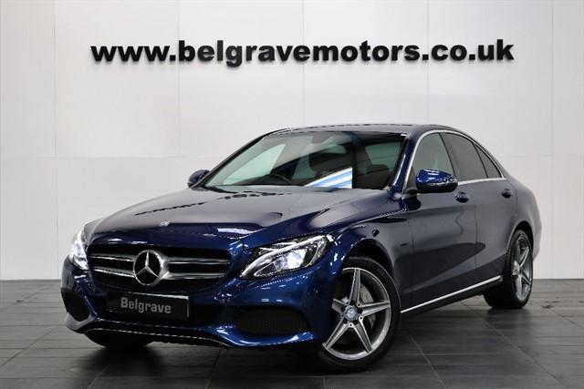 used Mercedes C350 E SPORT HYBRID AMG ALLOYS FREE TAX 274BHP in sheffield