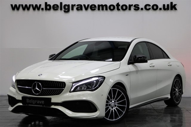 used Mercedes CLA 220 CDI CLA 220 D AUTO AMG WHITEART EDITION 4DR COUPE 68+MPG in sheffield