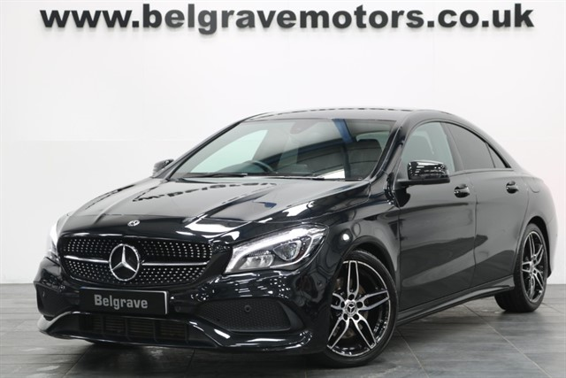 used Mercedes CLA 220 CLA220D AMG LINE AUTO NEW MODEL 4DR COUPE 177 BHP 67+MPG in sheffield