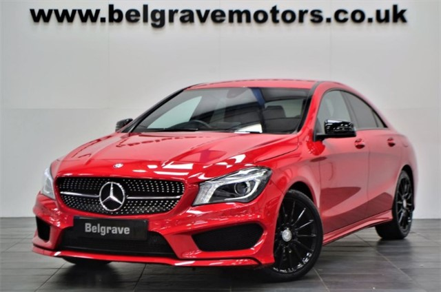 used Mercedes CLA200 CDI CLA 200 CDI AMG SPORT 4DR STUNNING VERY RARE 64+MPG in sheffield