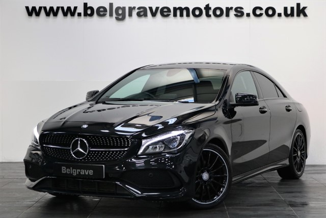 used Mercedes CLA200 CDI CLA 200 D AMG LINE NIGHT PACK 4DR 67+MPG in sheffield