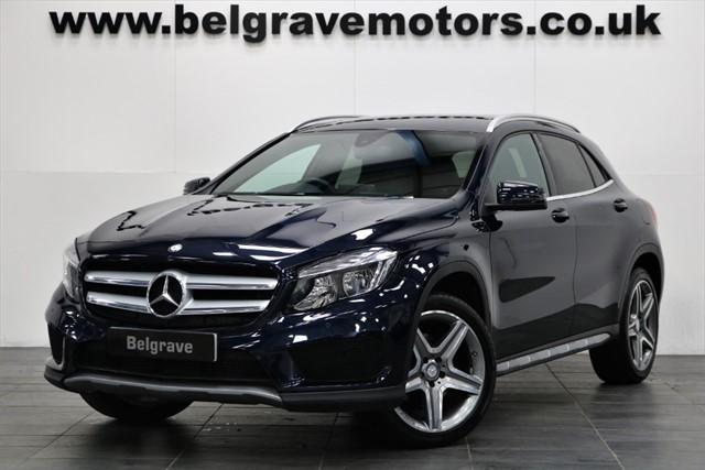 used Mercedes GLA250 GLA 250 4MATIC AMG LINE 4WD RARE PETROL 43+MPG in sheffield