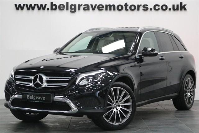 used Mercedes GLC250 GLC 250 D 4MATIC SPORT PREMIUM PAN ROOF MEMORY SEATS SAT NAV GREAT SPEC 4WD 56+MPG in sheffield