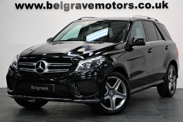used Mercedes GLE250 GLE D 4MATIC AMG LINE GREAT SPEC 4X4 47+MPG in sheffield