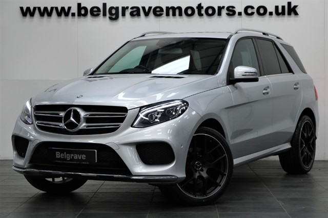 used Mercedes GLE250 GLE250D 4MATIC AMG LINE 22