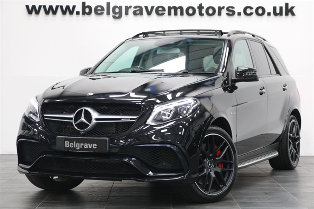 used Mercedes GLE63 AMG AMG GLE 63 S 4MATIC PREMIUM NIGHT PACK PAN ROOF HUGE SPEC 577 BHP in sheffield