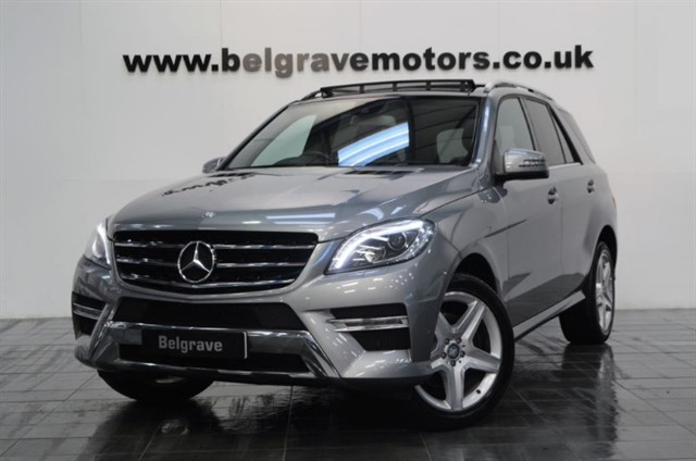 used Mercedes ML250 BLUETEC AMG LINE PAN ROOF COMAND HUGE SPEC 4WD 46+MPG in sheffield