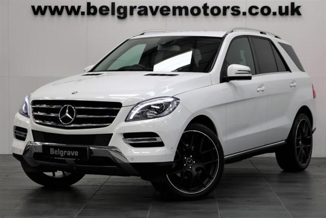 used Mercedes ML250 BLUETEC SE EXECUTIVE 22